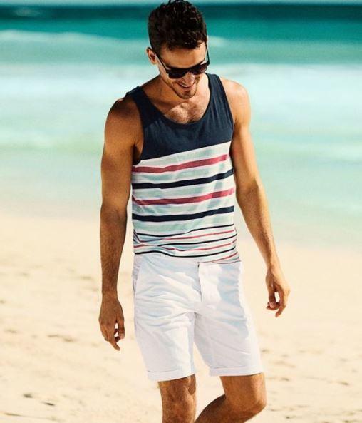 Beach look - 6 πράγματα που χρειάζεται ένας άνδρας στην παραλία ... 91899ca27e0