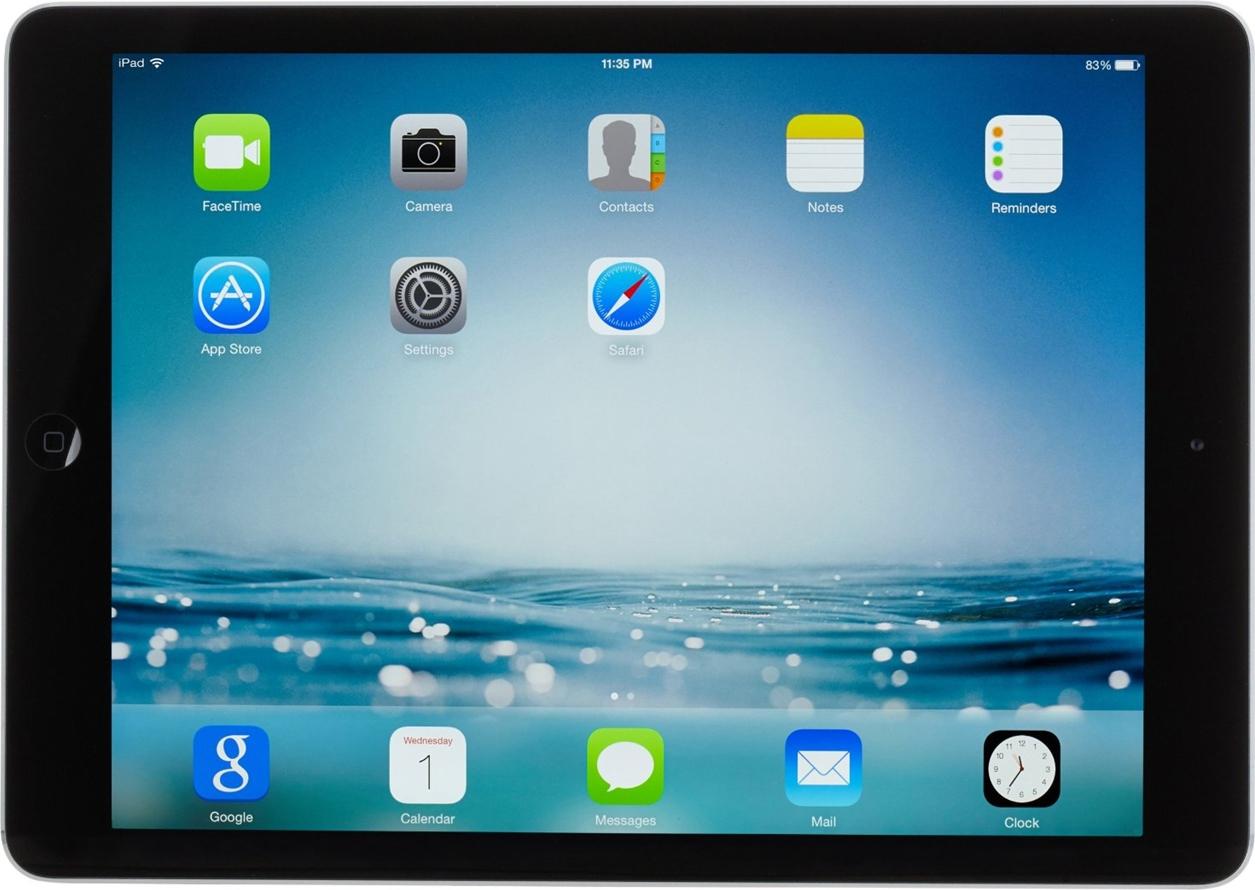 apple ipad air retina display wifi and cellular 32gb. Black Bedroom Furniture Sets. Home Design Ideas