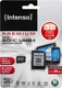 Intenso microSDHC 32GB Class 10 UHS-I with Adapter