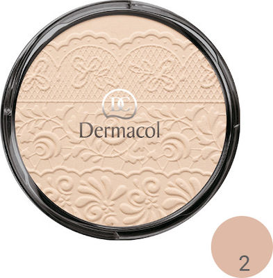 Dermacol Compact Powder With Lace Relief 02 8gr