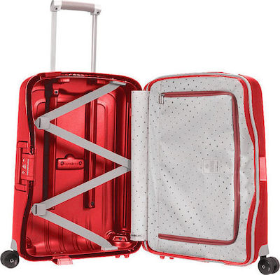 Samsonite S'Cure Spinner 55cm Crimson Red 49539/1235