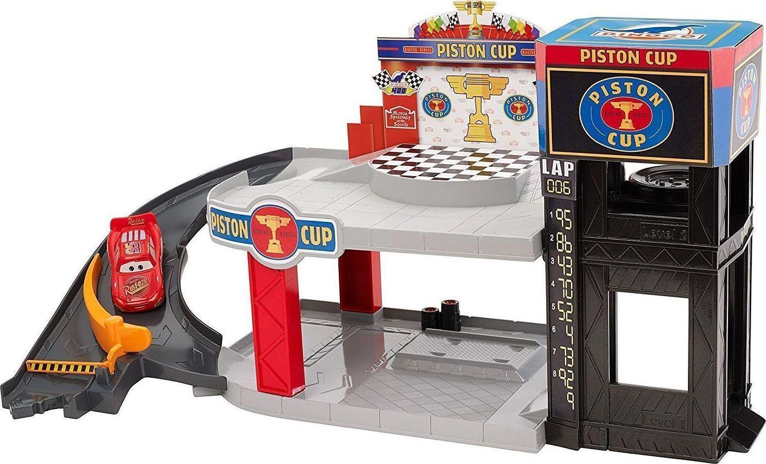 Mattel Cars Piston Cup Racing Garage Skroutz Gr