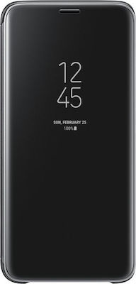 Samsung Clear View Standing Cover Μαύρο (Galaxy S9)