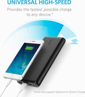 Anker PowerCore 26800 26800mAh Μαύρο
