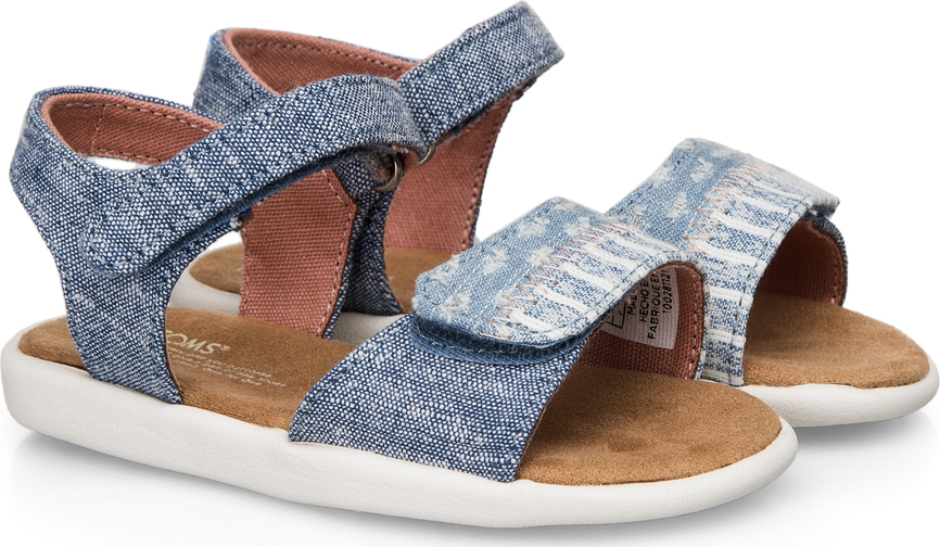 12646ac5905 Toms Strappy Sandals 10011554 Μπλε · Toms Strappy Sandals 10011554 Μπλε ...