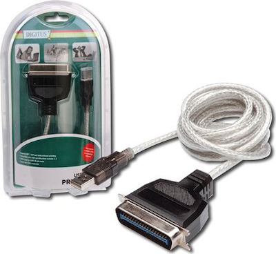 Digitus USB-A male - Parallel male (DC USB-PM1)