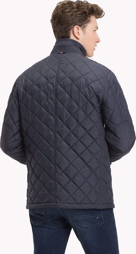 Tommy Hilfiger. Tommy Hilfiger Casual Quilted Μπουφάν Μπλε 6ca1617bfc4