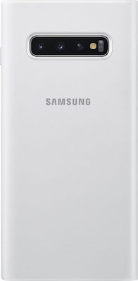 Samsung LED Wallet Cover Λευκό (Galaxy S10+)