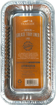 Traeger Timberline Grease Pan Liner 5τμχ BAC404
