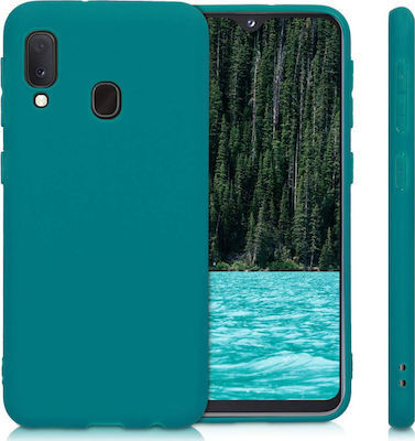 KW Back Cover Teal Matte (Galaxy A20e)