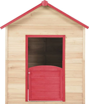 vidaXL Play House Wood Red