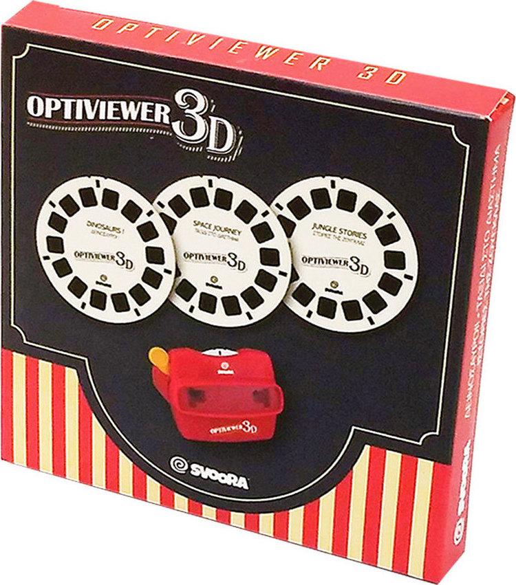 Svoora Σετ Δίσκοι 3 Θέματα για 3D Optiviewer
