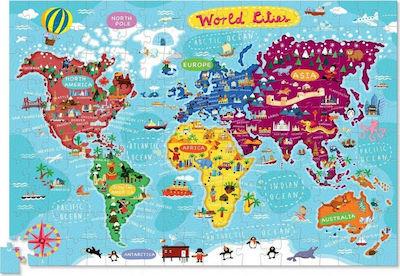 200-pc Puzzle+Poster//World Cities 382874-3 Crocodile Creek