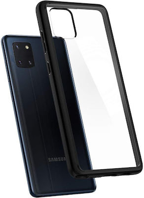 Spigen Ultra Hybrid Back Cover Σιλικόνης Μαύρο (Galaxy Note 10 Lite)