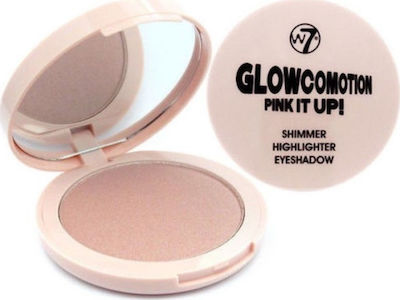 W7 Cosmetics Glowcomotion Pink It Up Shimmer Highlighter Eyeshadow 8.5gr