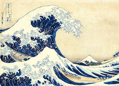 Museum Collection: Hokusai Το Μεγάλο Κύμα 1000pcs (1260-39378) Clementoni