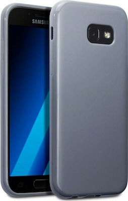 Terrapin Back Cover Σιλικόνης Γκρι (Galaxy A5 2017)