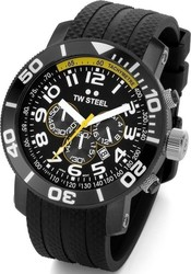 TW Steel divers watch 45mm rubber band TW75