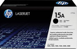 HP 15A Black Toner (C7115A)