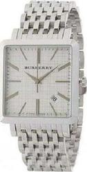 Burberry Men White Dial Silver Stainless Steel Bracelet BU1712