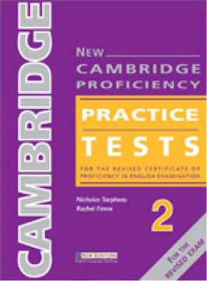 New Cambridge Proficiency Practice Tests 2