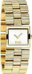 Dolce & Gabbana Gold Check Ladies Silver DW0340