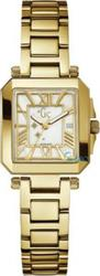 Guess Collection Lady Square Gold Stainless Steel Bracelet A52004L1