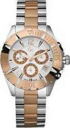 Guess Collection Two-Tone Stainless Steel White Mother of Pearls A70003L1