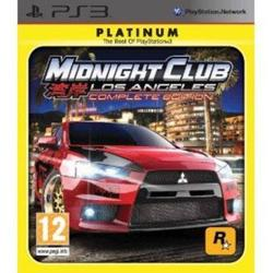 Midnight Club: Complete Edition Platinum PS3
