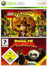 LEGO Indiana Jones: The Original Adventures / DreamWorks Kung Fu Panda XBOX 360