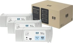 HP 83 Light Cyan UV 680ml 3-pack (C5076A)