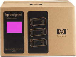 HP 90 Magenta 400ml 3-pack (C5084A)