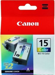 Canon BCI-15CL Color Twin Pack (8191A002)