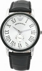 Emporio Armani Classic Black Leather Strap AR0463