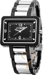 Just Cavalli Square Silver and Black Dial R7253135525