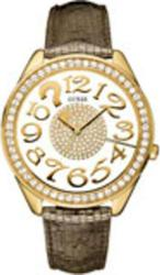 Guess Lady Transparent/Gold Dial - W12092L1