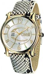 Just Cavalli Eclipse Snake Skin Leather Strap R7251168615
