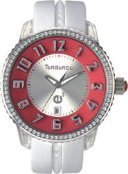 Tendence Gulliver Medium Crystal White Rubber Strap 02093009SS