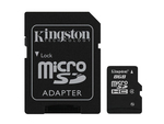 Kingston microSDHC 8GB Class 4 with Adapter