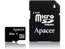 Apacer microSDHC 32GB Class 4 with Adapter