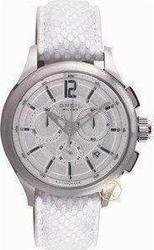 Breil Mens Watch Chronograph White Leather Strap BW0565
