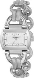 Fossil White Dial Stainless Steel Bracelet ES2479