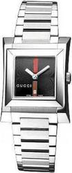 Gucci Lady Black Dial Stainless Steel Bracelet YA111402