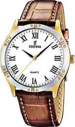 Festina Classic Brown Leather Strap - F163723
