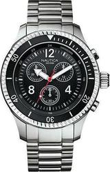 Nautica Mens NST 03 Chronograph Stainless Steel Bracelet A21516G