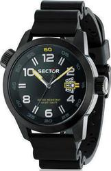 Sector Mens Watch Oversize Black Rubber R3251102225