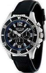 Sector 230 Mens Watch Black Leather Strap R3271661025
