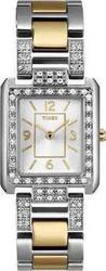 Timex Two-Tone Stainless Steel Bracelet Crystal Ladies T2N034