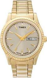 Timex Gold Stainless Steel Dress Watch T2M557