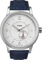 Timex Automatic Crystals Blue Leather T2N351